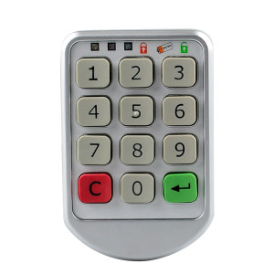 Digital Keypad Password Locker Lock For Gym Spa Swimming Pool