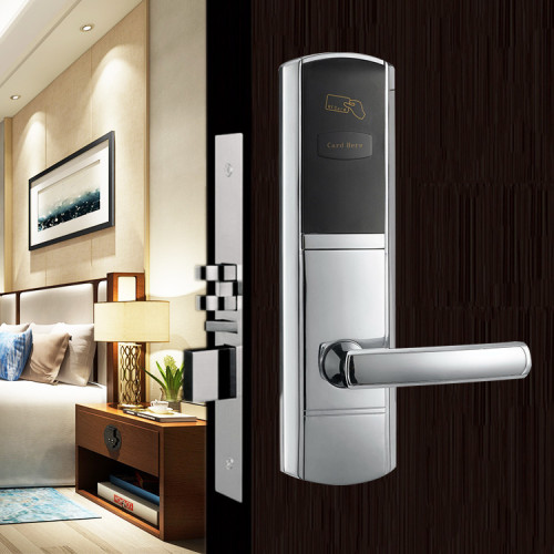 Smart Hotel Door Lock System Opened By RFID Key Card
