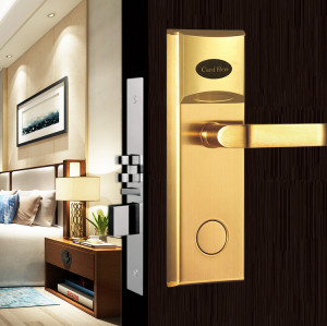 Factory Price Smart Magnetic Card Hotel Door Lock System