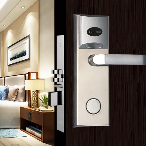 Factory Price Smart Magnetic Card Hotel Door Lock System