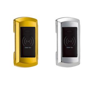 Gym Spa Sauna Locker Room Keyless Cabinet Door Lock With RFID Key Card Wristband