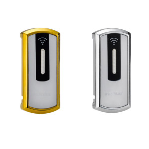 Electronic Digital Swipe RFID Sensor Card Keyless Cabinet Locks For Gym Lockers