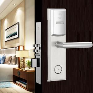 RFID Card Reader Digi Keyless Hotel Room Door Lock System