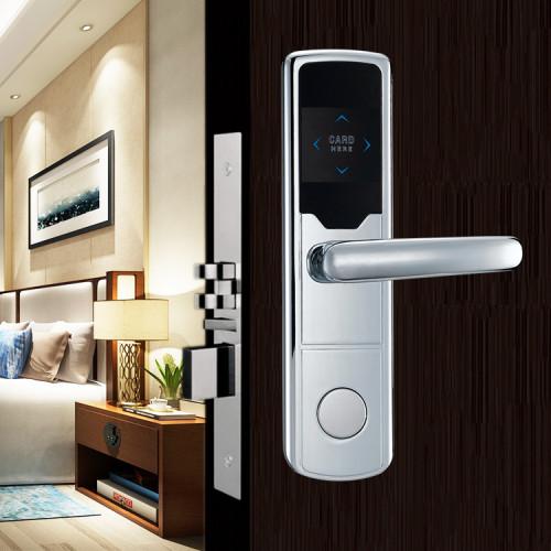 RFID Mifare Card Key Digital Hotel Room Door Lock System