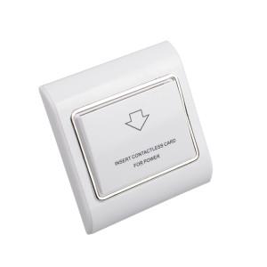 Hotel Room Magnetic RFID Key Card Energy Saver Light Switch