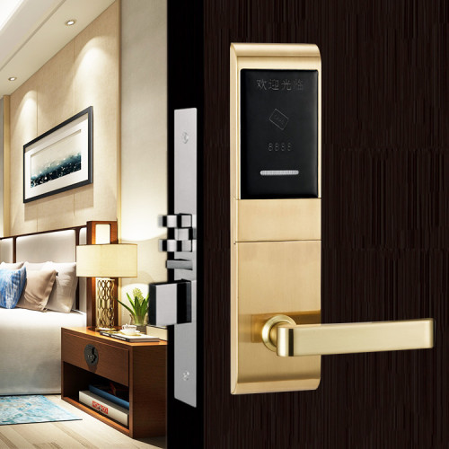 Electronic RFID Card Hotel Door Lock System With SDK And API
