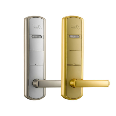 Smart RF Card Hotel Management System Door Lock With ANSI Cylinder