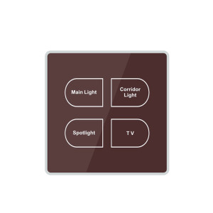110V 220V Standard Wall Mounted Touch Sensor Switch For Light And Fan