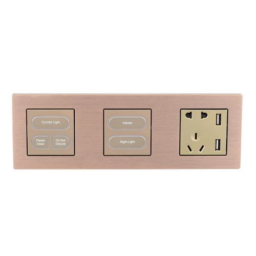 Smart Light Wall Switch For Hotel And Home Automation