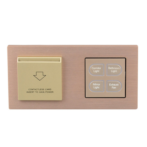 Wall Mounted Smart Electric Light Switch With LED Indicator