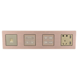 1 2 3 4 Gang 1 Way 2 Way Wall Switch For Light And Fan