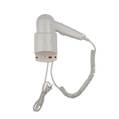 Wall Hanging Hair Dryer With Hanging Loop