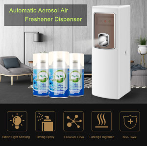 Automatic Liquid Air Freshener Smart Dispenser For Hotel With Light Sensor