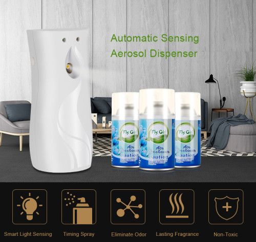 Programmable Auto Aerosol Spray Perfume Dispenser With Light Sensor