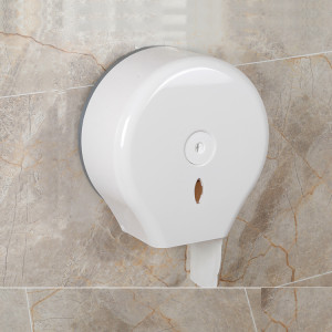 Wall Mount Jumbo Roll Toilet Paper Towel Dispenser For Bathroom With Auto Cut Exit