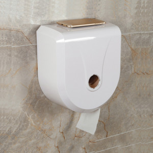 One Handed Auto Cut Big Toilet Paper Tissue Dispenser For Bathroom