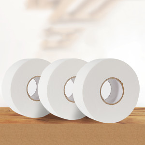 Manufacturer Price Big Jumbo Roll Bamboo 2 Ply Toilet Paper Tissue Supplier In China