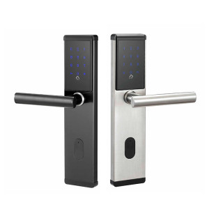 Electronic Smart Outdoor Door Mortise Lock System With WiFi Smartphone ttlock APP Control