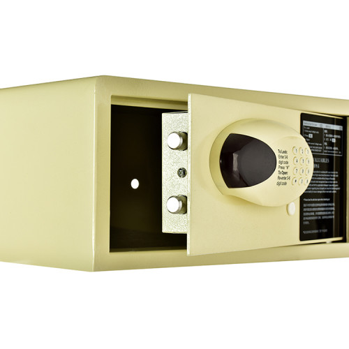 Hotel Guest Room Digital Safe Deposit Box With Pins Lock And Mechanical Key