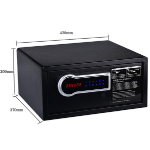 Steel Material Hotel Room Safe Locker Money Box With Electronic Keypad