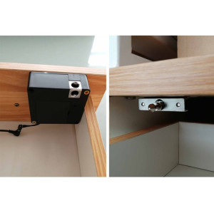Invisible Design Digital Hidden Cabinet Lock With RFID Card Unlock