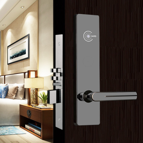 Smart RF Card Hotel Management System Door Lock With ANSI Cylinder