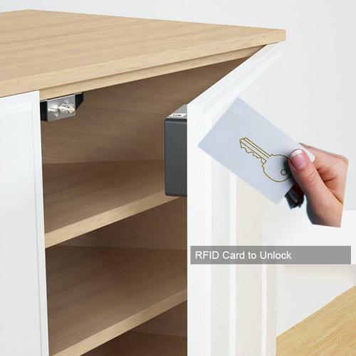 EPROER | Digital Hidden Drawer Lock Cabinet Locker Lock with RFID Card to Open