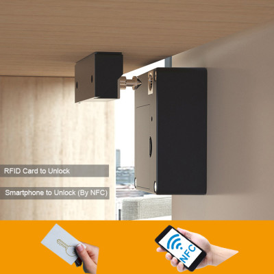 EPROER | Digital Hidden Drawer Lock Cabinet Locker Lock with RFID Card & NFC to Open