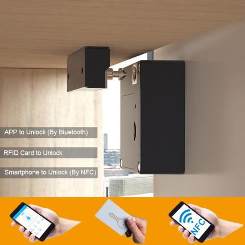 EPROER | Digital Hidden Drawer Lock Cabinet Locker Lock with RFID Card & NFC & Bluetooth APP to Open