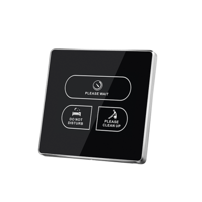 Wall Mounted Touch Switch For Controlling Hotel Room DND MUR Sign Plate