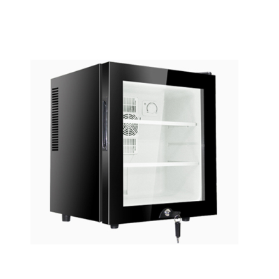 Hotel Room Mini Bar Refrigerator With Glass Door