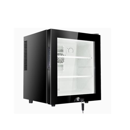 Glass Door Smart 30L Mini Bar Fridg For Hotel Room