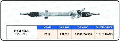 28021R EPS Steering Gear / Steering Rack for HYUNDAI SANTAFE 2012- year   56500-2W900 RIGHT HAND