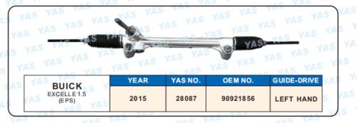 28087 Hydraulic Steering Gear/ steering rack for EXCELLE 1.5   90921856