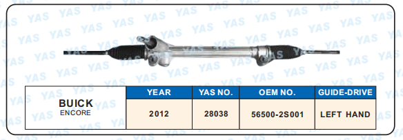 28038 Hydraulic Steering Gear/ steering rack for  ENCORE  56500-2S001
