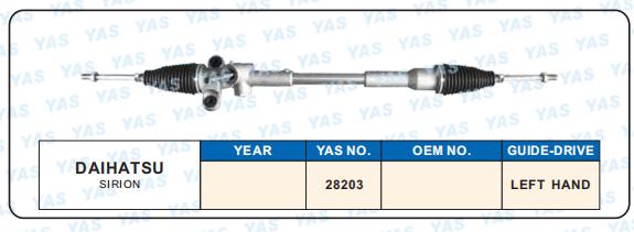 28203 Hydraulic Steering Gear/ steering rack for DODGE Sirion