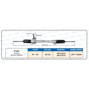 28126  Hydraulic Steering Gear/ steering rack for FIAT PUNTO,BRAVO, BRAVA