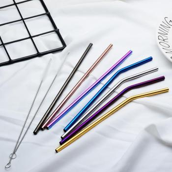 Spuntree Creative High quality  Bendable Recyclable portable Stainless steel straw OEM service available