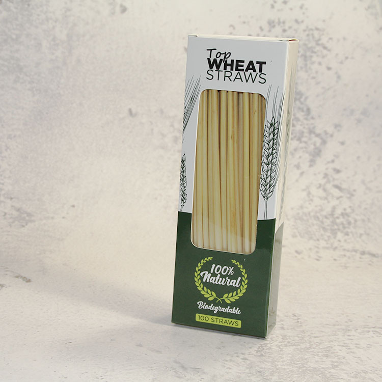 Bar natural wheat straw