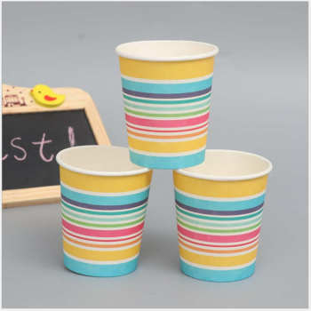 Hot sale high quality coffee house OEM 57oz Food grade Kraft colorful paper cup Wholesale