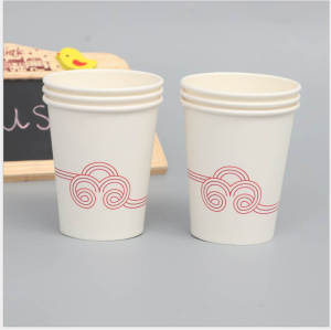 Coffee house OEM 57oz Food grade Kraft colorful paper cup wholesale