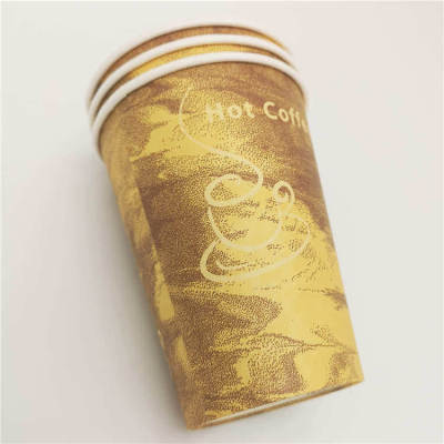 Hot sale high quality coffee house OEM 57oz Food grade colorful Hot stamping paper cup Wholesale