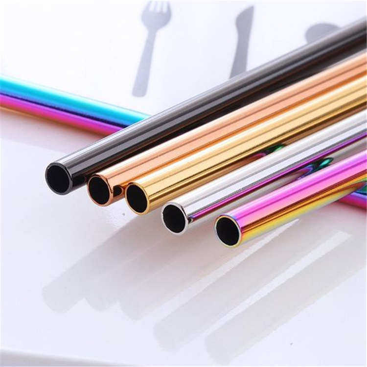 6mm Stainless steel straws
