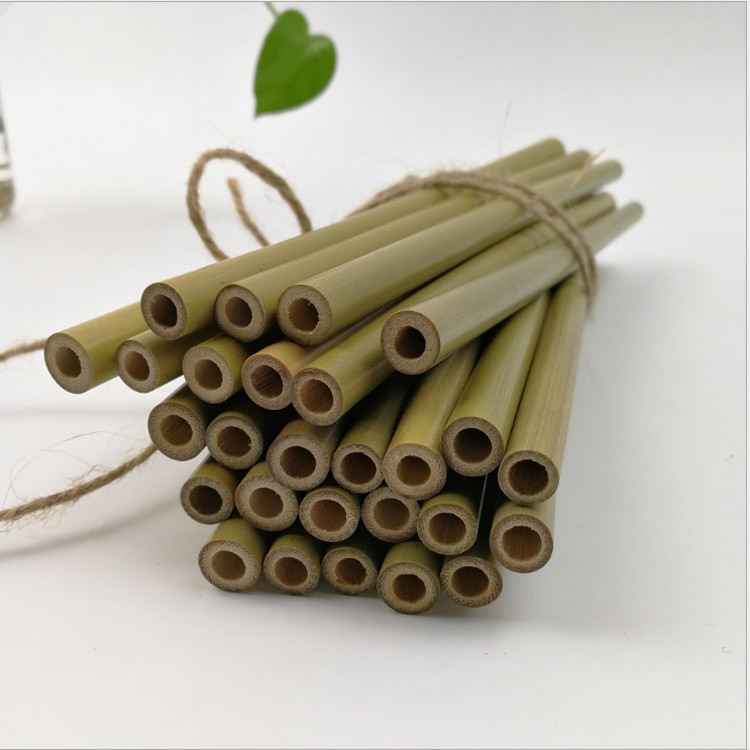 6mm Reusable Drinking Straws Bamboo Straws
