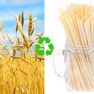 6mm天然麦わら使い捨て麦わら子供安全ミルクティー赤ちゃんクリエイティブ飲料水
