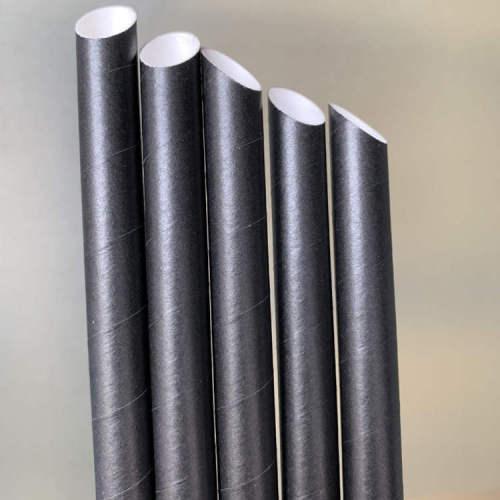 紙ストロー斜め使い捨て環境にやさしい分解性飲料ストロークリエイティブミルクティー厚いストロー