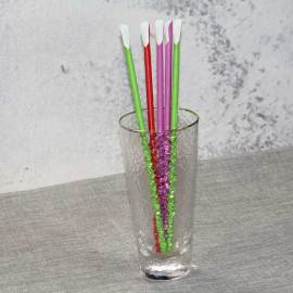 Popular Design Disposable Biodegradable Drinking Paper Spoon Straws
