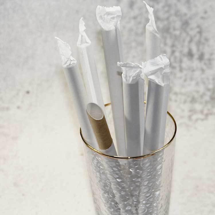 12mm milk tea paper straw