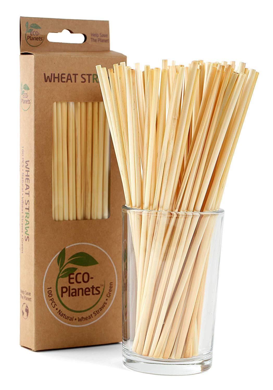 Spuntree wheat straw