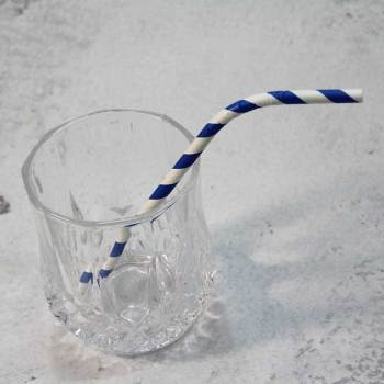 Wholesales Bendy Factory Price Bendable Drinking Paper Eco Friendly Decomposed Flexible Straws
